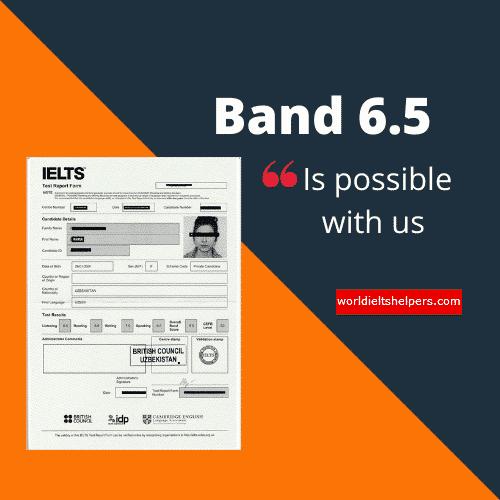 IELTS Band 6.5
